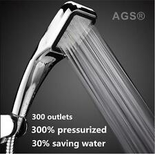Best High Pressure Shower Head Handheld Chrome Powerful Boosting Water Saving UK