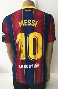 FC Barcelona - Spanish Football League - Lionel Messi - 2020 - 2021 - Jersey