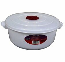 High Quality 1 litre Microwave Pot Tub with Ventilated Lid Heating Food Cooking