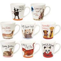Churchill Alex Clark Sparkle China Mugs Bears Panda Dogs Tiger Tea Coffee Mug