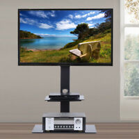 Heavy Duty Floor TV Stand with Mount 2 Shelves for 32 - 65 Inch Samsung LG Vizio