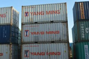 20ft shipping container. Used storage container. 100% watertight