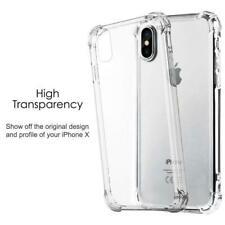 FOR iPHONE 11 Pro/ X,XS,8,7+ 100% SHOCK-PROOF CLEAR SILICONE TPU GEL CASE COVER