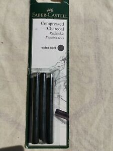 Compressed charcoal Faber Castell
