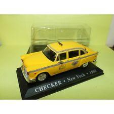 CHECKER TAXI New York 1980 ALTAYA 1:43 blister