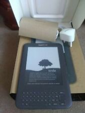 Amazon Kindle Keyboard (3rd Generation) 4GB, Wi-Fi & 3G 6in, Graphite - NEW