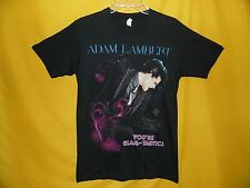 "Adam Lambert T-Shirt ""You'Re Glam-Tastic Concert Tour Collectible Tee (Small)"