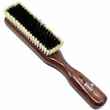 Kent CP6 Clothes Brush for Cashmere Care. Black / White Pure Bristles
