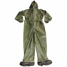 Cz / Sk Rubber Suit Opch 70 Olive Abc Hazmat Decontamination Protective Suit