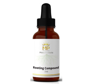 Rooting Gel -IBA Rooting Hormone- Clone Cutting - Midas Products - 2 oz