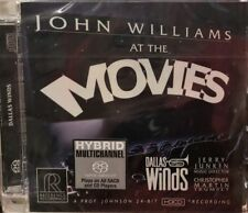 JOHN WILLIAMS - AT THE MOVIES  (SACD) MADE IN GERMANY