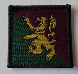 British Army 51st Infantry Brigade & HQ Scotland Formation Badge TRF