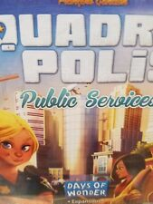 Quadropolis: Public Services Expansion - Days of Wonder Games Board Game New!