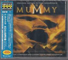 MUMMY - JERRY GOLDSMITH JAPAN NEW & SEALED TOP RARE OOP CD