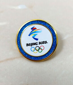 Beijing 2022 olympic pins  blue