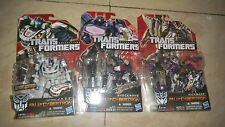 Hasbro Transformers Fall of Cyberton Shockwave Jazz Kickback Gundam collection D