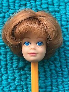 Vintage Barbie Pretty Copper / Titian BEND-LEG MIDGE HEAD