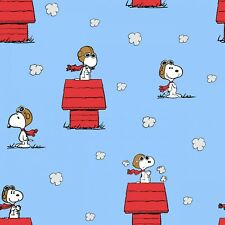 Snoopy Red Baron - Fabric Material