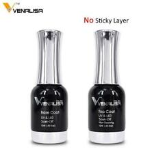 Venalisa Primer Nowipe No Acid Liquid Ph Bond Matt Base Top Coat Soak off Uv Led