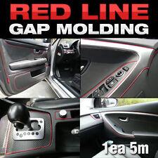 Edge Gap Red Line Interior Trim Flexsible 5meter For KIA 2014-2016 2017 Soul