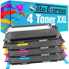 4 Toner XXL für Samsung CLT-4092S CLP-310 CLP-310 N CLP-315 CLP-315 N CLP-315 W