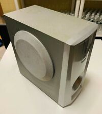 RCA Active Subfoower Speaker Silver Color Used/Tested/Works !!!