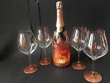 Moet Chandon Nectar Imperial Rose Champagner N.I.R. 1,5l 12% Vol + 4 Gläser