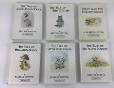 Beatrix Potter books (small) hardback books with dust covers good condition