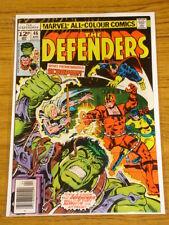 DEFENDERS #46 VOL1 MARVEL COMICS HULK DR STRANGE APRIL 1977
