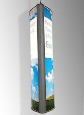 Panorama Leuchtdisplay A1 beidseitig (Leuchtkasten, Klemmrahmen, Werbeschild)