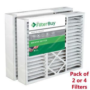 FilterBuy 20x25x5 AC Air Filters Honeywell FC100A1037 Compatible (MERV 8)