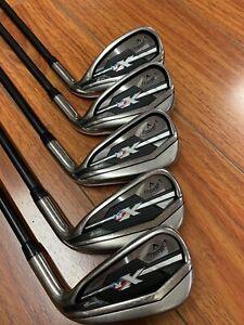 Callaway XR Iron Set 5,6,7,9,A Graphite Shafts