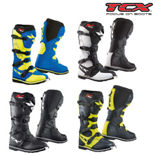 TCX X-Blast Motocross Boots MX ATV Dirt Bike Protect Off-Road Enduro Motorcycle
