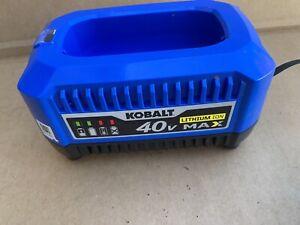 Kobalt 40v Battery Charger KRC 40-06 1.3Amp 40 Volt Charger