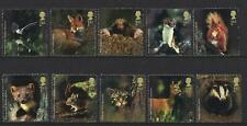 GREAT BRITAIN 2004 WOODLAND ANIMALS UNMOUNTED MINT SET OF 10  SINGLES