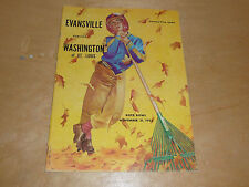 1953 WASHINGTON UNIVERSITY (MO) AT EVANSVILLE (IN) COLLEGE FOOTBALL PROGRAM