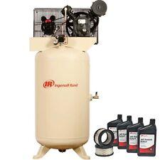 Air Compressor Amp Start Kit 80 Gallon 230v 5 Hp 175 Psi 1 Ph 147 Cfm