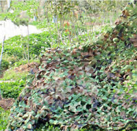 2x3M Woodland Jungle Camouflage Net Camo Netting Camping Military 78*118 Inch
