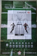 CFL football 100th Grey Cup poster