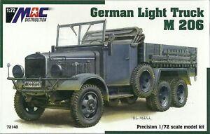 MAC Distribution 1/72 (20mm) Magirus M206 Light Truck