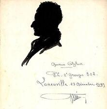 LANEUVILLE PEINTURE OMBRE PORTRAIT DOCTEUR ALGLAVE 1939