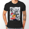 Fairy Tail Natsu Dragneel Manga Strip Anime Unisex Tshirt T-Shirt Tee ALL SIZES