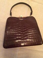 Vintage Alligator Nettie Rosenstein Handbag