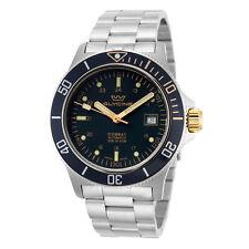 Glycine Men's Combat Sub GL0271 42mm Dark Blue Dial Stainless Steel Watch