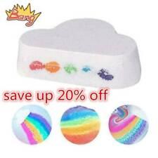 110g Cloud Rainbow Bath Salt Moisturizing Bubble Bath Body Ball Skin Care Hot