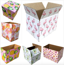 25 Designer Boxes Corrugated Cardboard Box Shipping Cartons Mailers Gift Packing