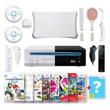 Nintendo Wii Konsole weiß + 2 oder 4 Original Remote + Besten Spiele nach Wahl!