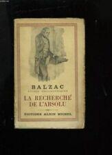 La recherche de l'absolu [Broch_] by Balzac
