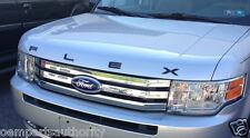 OEM 2011-2016 Ford Flex Titanium Black Hood Letters Emblem - Limited, SE, SEL