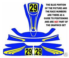 KART CARROZZERIA Graphics Set Style 02 (ROTAX, CADET, Cadetto)